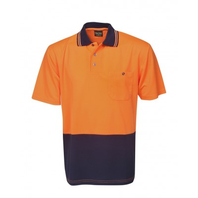 6c6cbd8bf Bluewhale Short Sleeve Hi Vis Light Weight Cooldry Polo